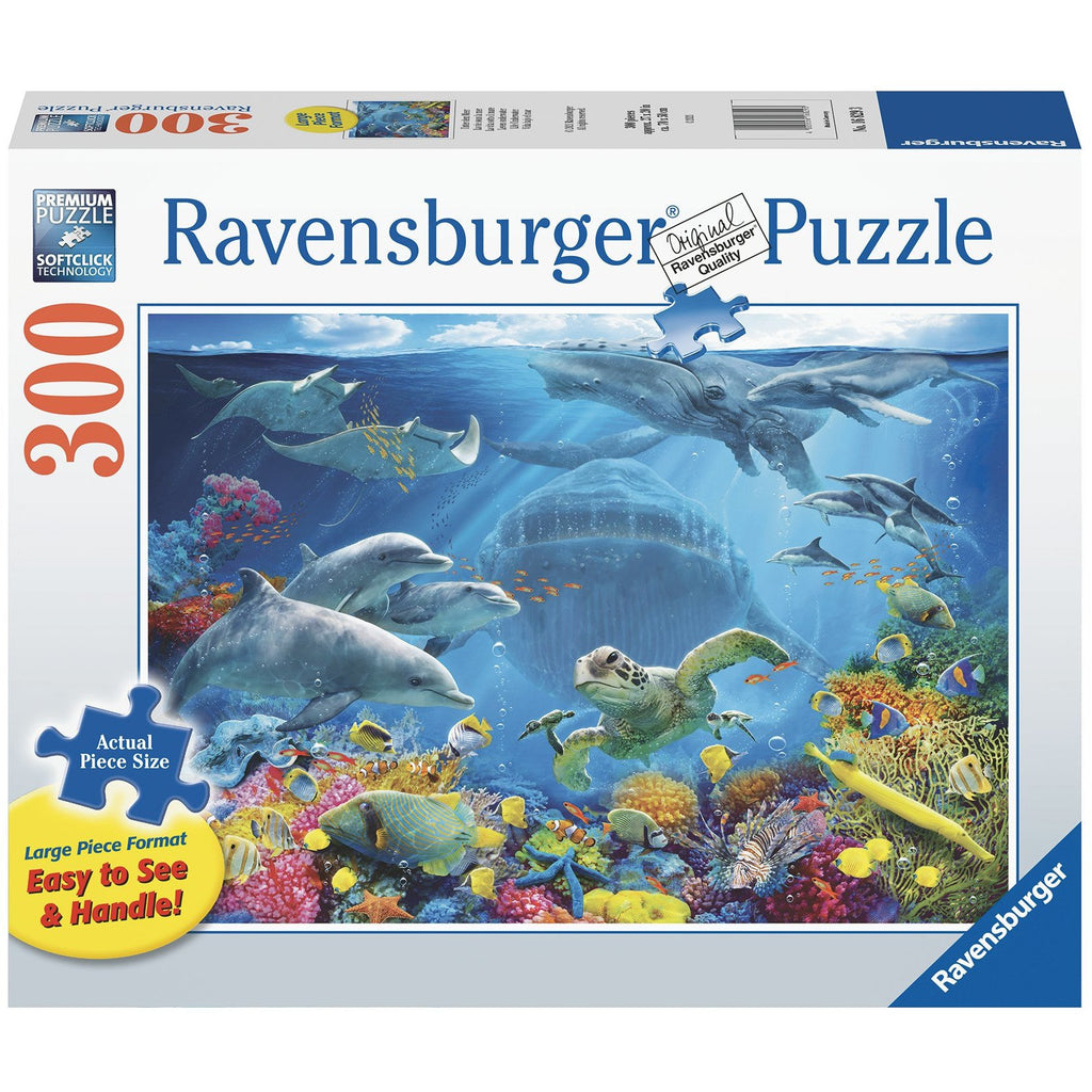 Life Underwater 300 Piece Large Format Jigsaw Puzzle