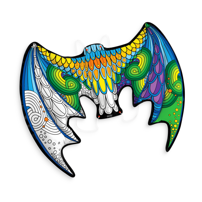 Ooly Dragon Wings Colorable