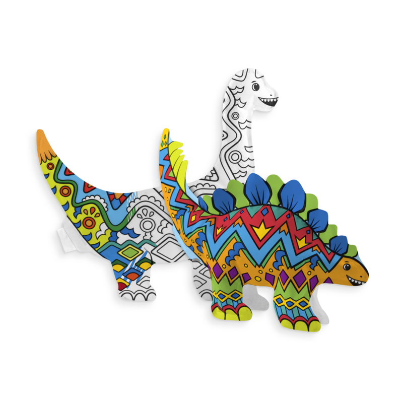 Ooly Dinosaur Friends Colorable