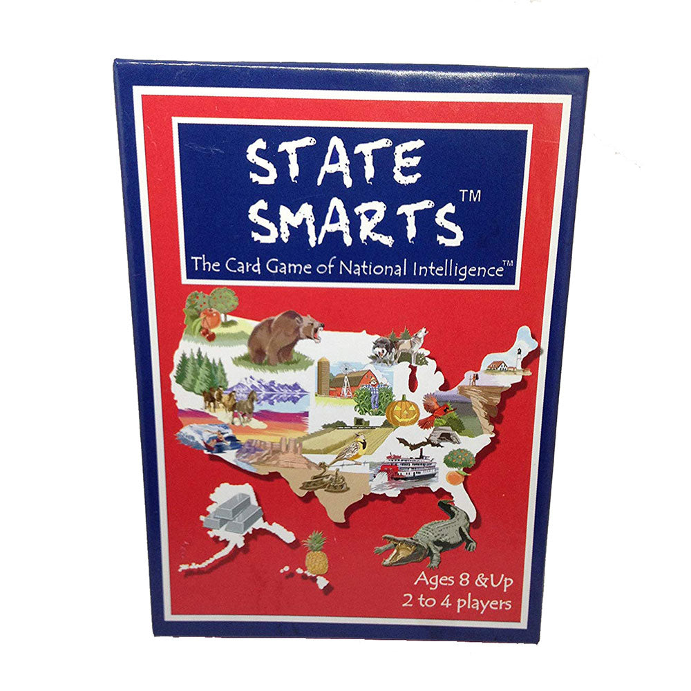 State Smarts Card Game