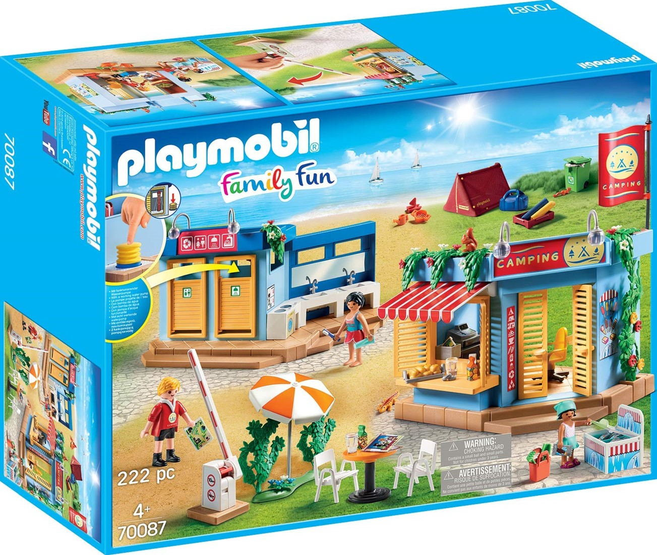Playmobil 70087 Large Campground – Turner Toys