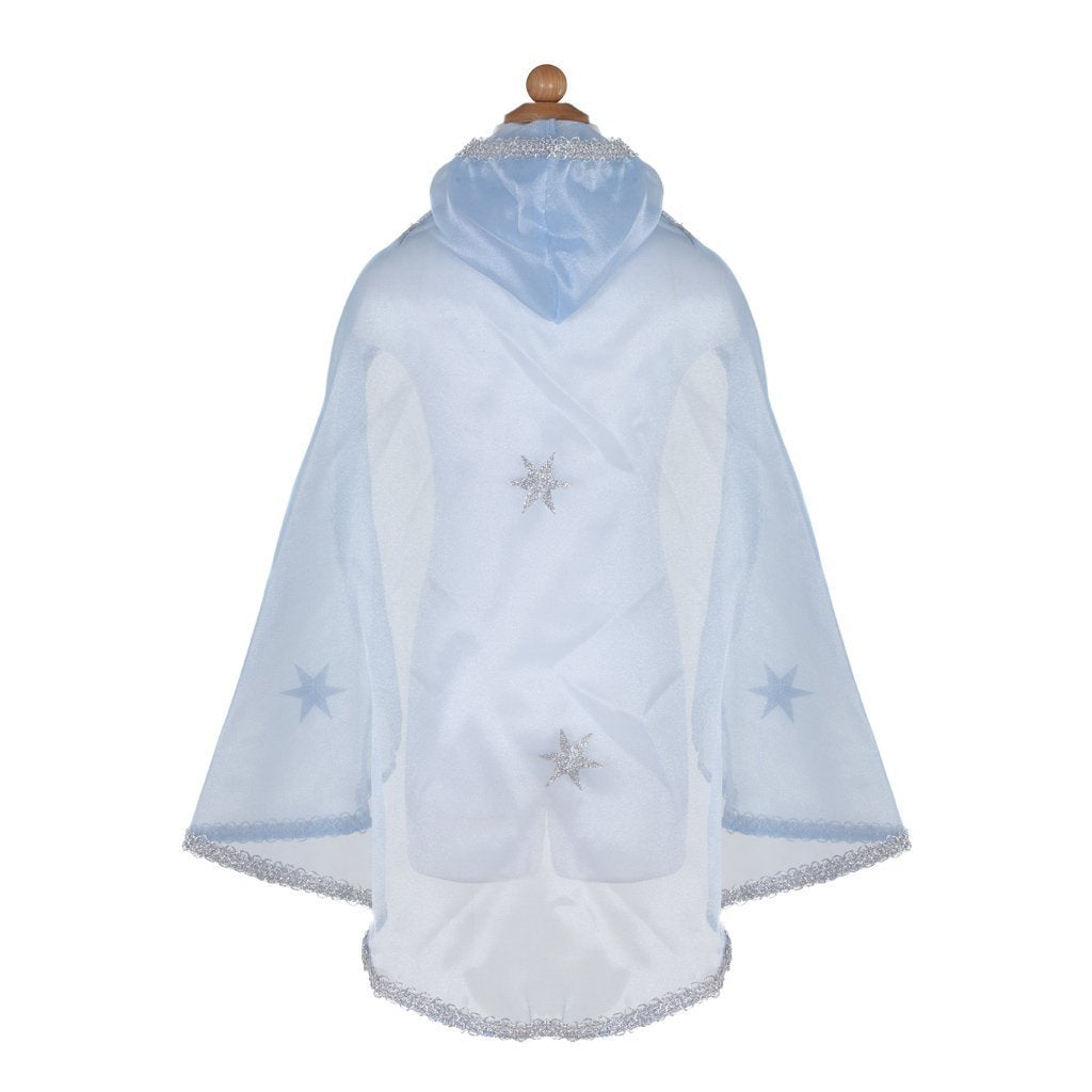 GP Snow Queen Cape Blue Silver 5-7