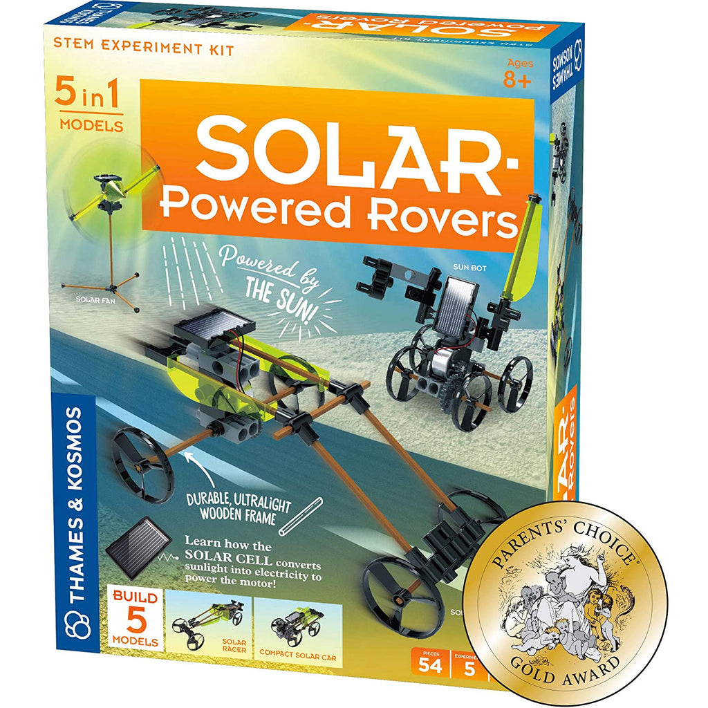 Thames & Kosmos Solar Powered Rovers Science Kit