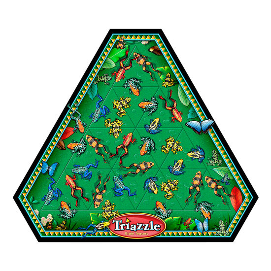 Triazzle Puzzle Frogs