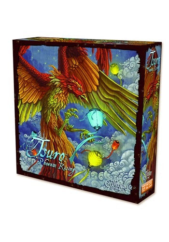 Tsuro Phoenix Rising Pathways Game