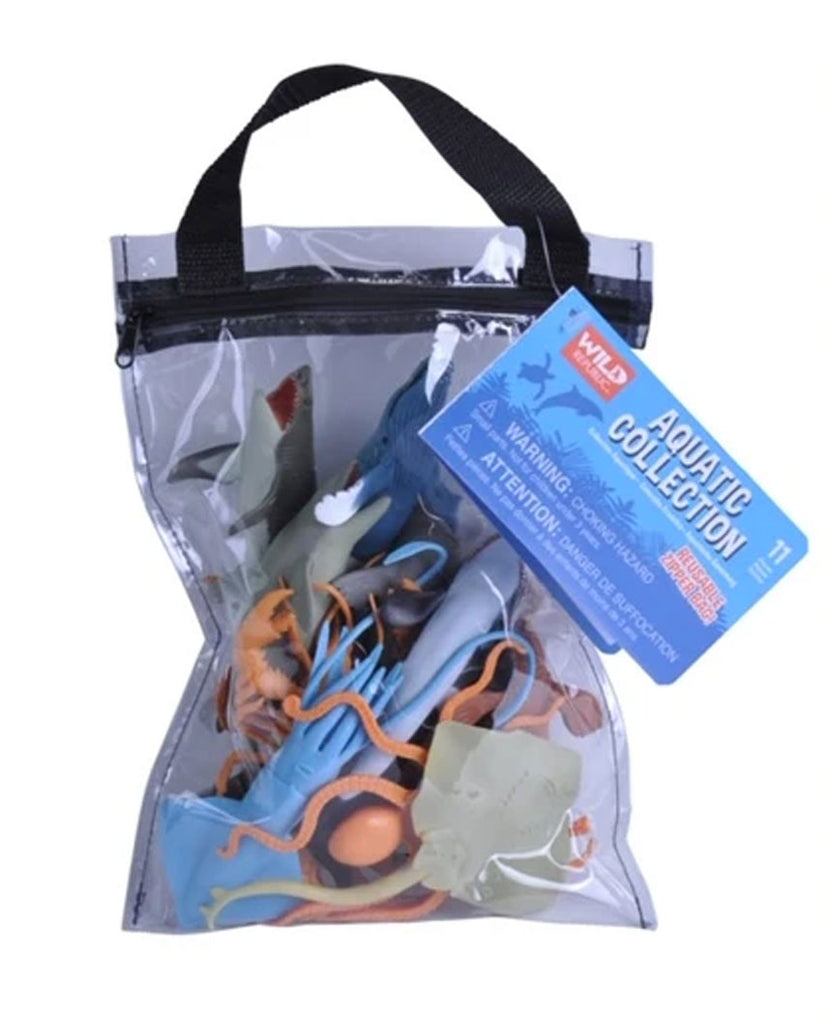 Aquatic Animals Zip Polybag