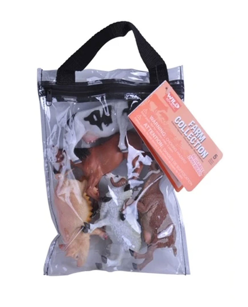 Farm Animals Zip Polybag