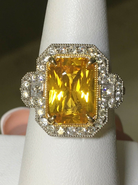 18K GOLD 10.95CT GIA CERTIFIED