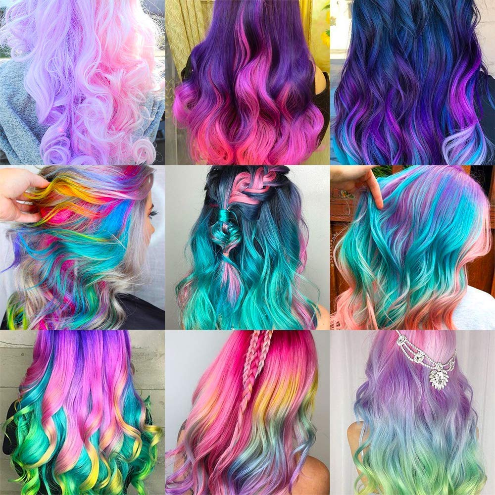 Q-JADE Multi-Colored Hair Chalk