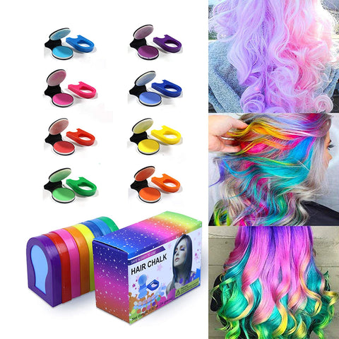 Image of Q-JADE Multi-Colored Hair Chalk