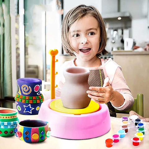 Camaristores Pottery Wheel Studio Kit For Kids