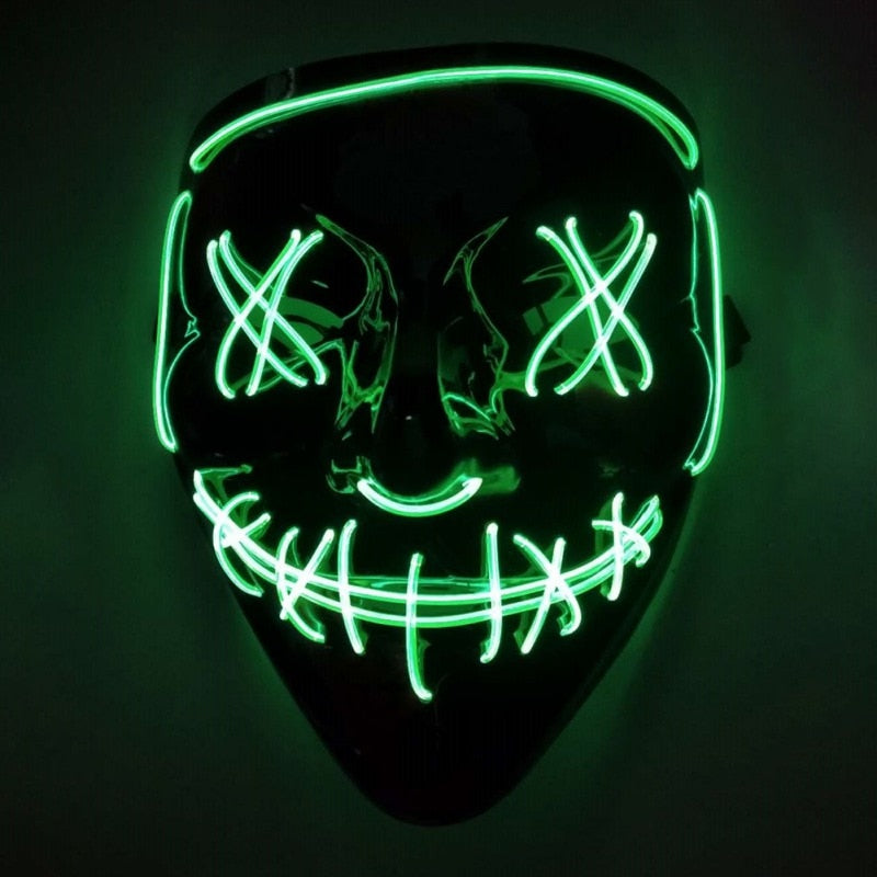 Halloween LED Purge Mask For Adults & Kids