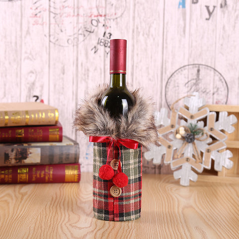 Image of The Perfect Christmas Sweater Wine Bottle Cover
