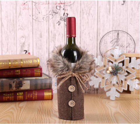 The Perfect Christmas Sweater Wine Bottle Cover