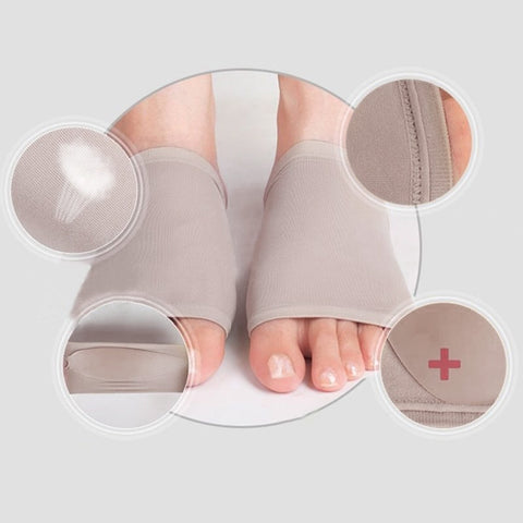 Image of Unisex Arch Support Brace Gel Pads For Happy Feet (1 Pair)
