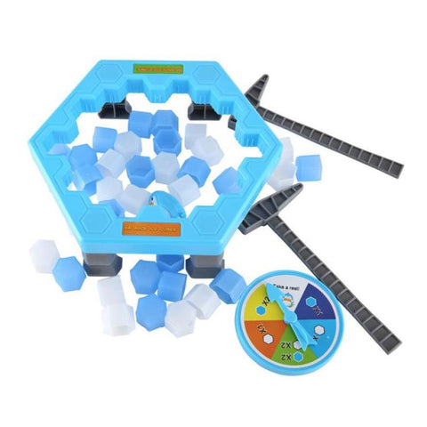 Image of Kids Penguin and Ice Break Puzzle Game