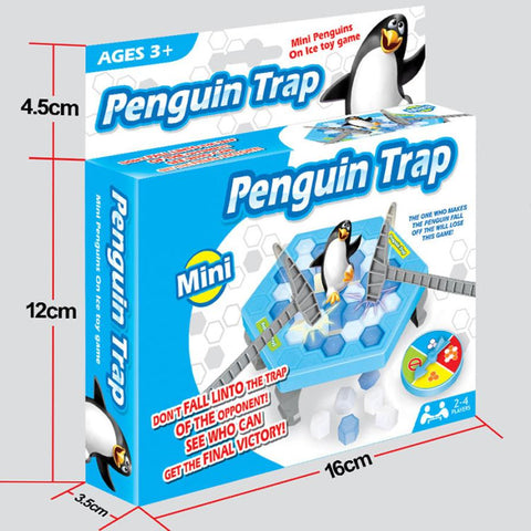 Kids Penguin and Ice Break Puzzle Game