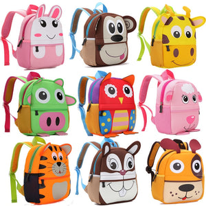 High Quality 3D Animal  Backpack For Kids