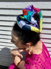 Load image into Gallery viewer, Summer Nostalgia Giant Scrunchie