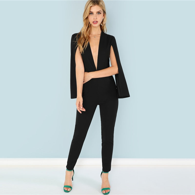 Maxi Tapered Jumpsuit