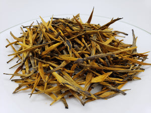 Our Pu'er Red Needle Loose Leaf Black tea looks amazing and yields tea with lots of honey notes that linger in the cup.