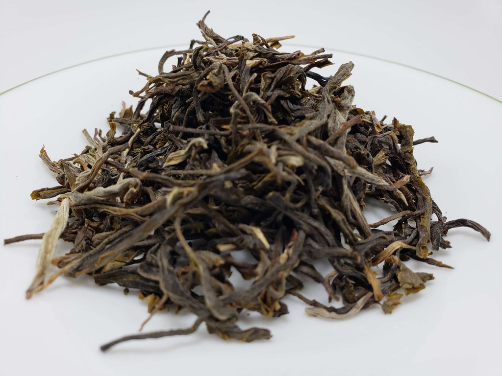 90 Year-Old Wild Tree Loose Leaf Tea Pu'erbang East Raw Tea Loose Leaf Tea Teshuah Tea Company 50 grams