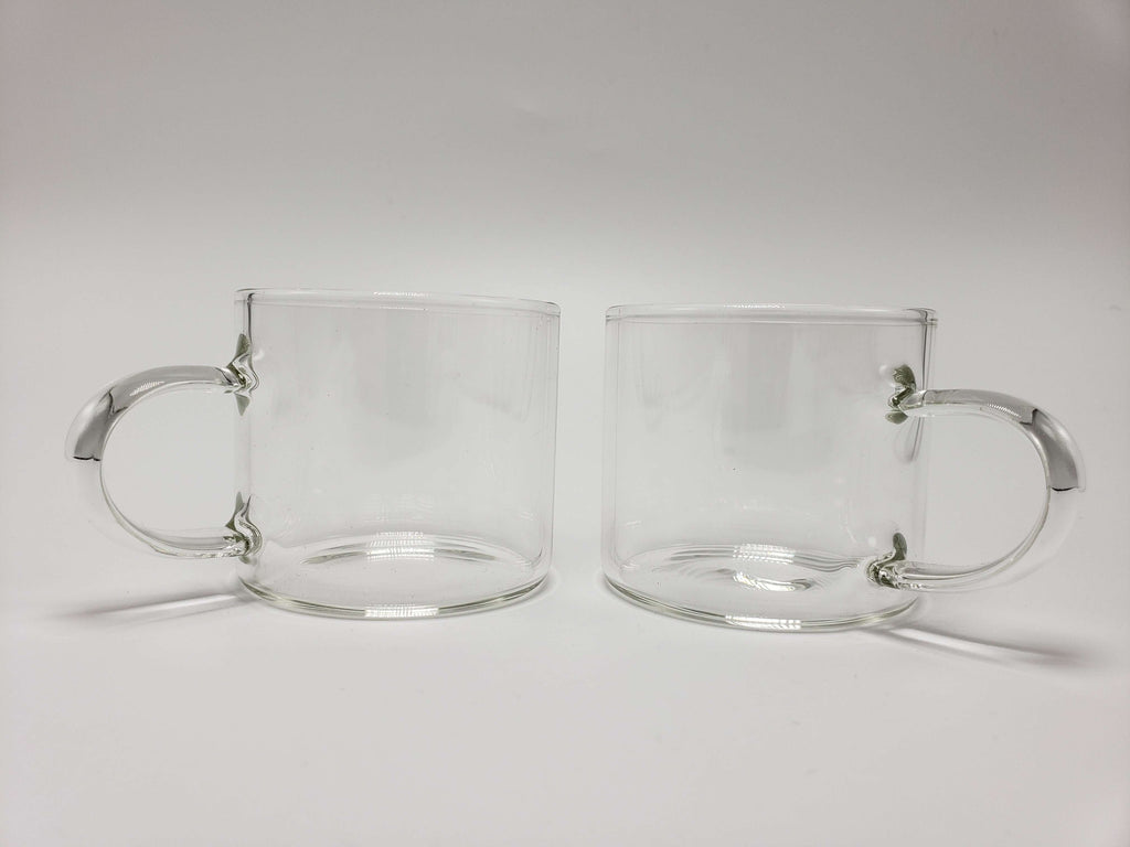 Glass Tea Cups (2 pack) Accessories Teshuah Tea Company