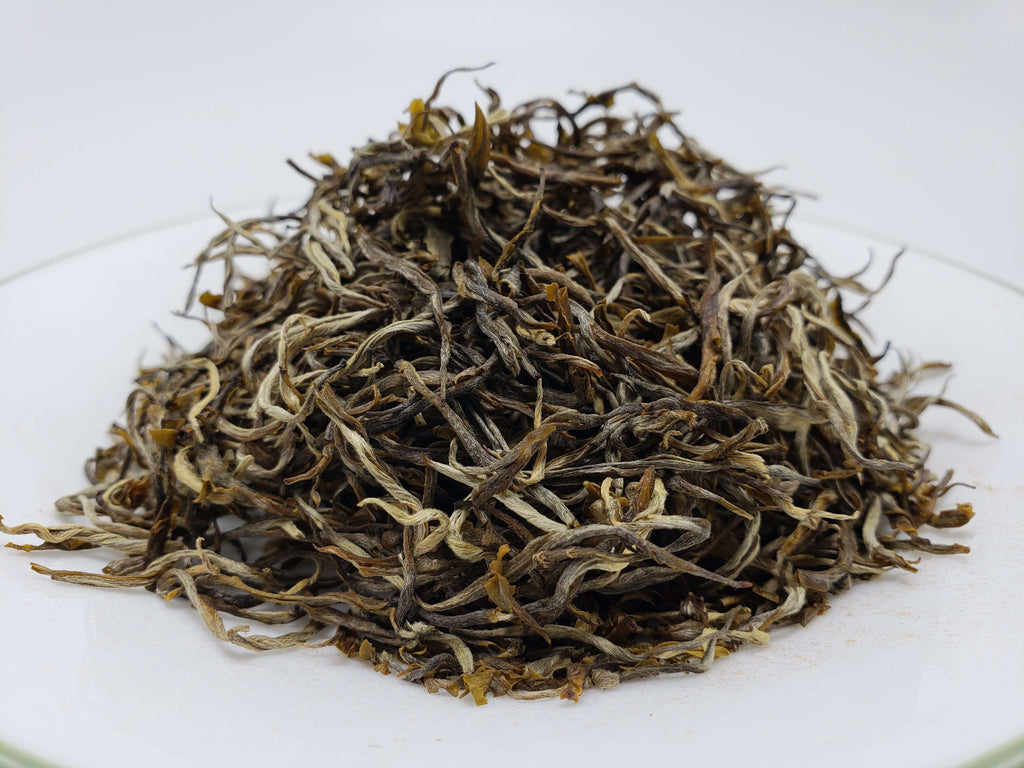 Pu'er Kung Fu Loose Leaf Green Tea Loose Leaf Tea Teshuah Tea Company 50 grams