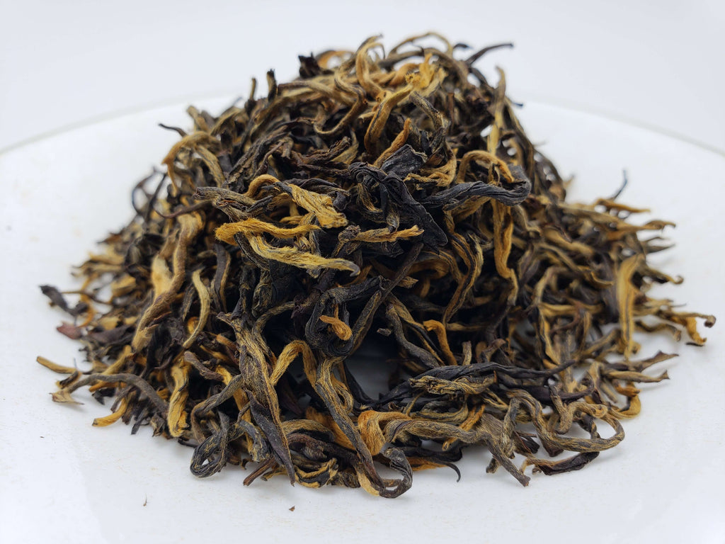 Pu'er Maofeng (Feather Mountain) Black Tea Loose Leaf Tea Teshuah Tea Company 50 grams
