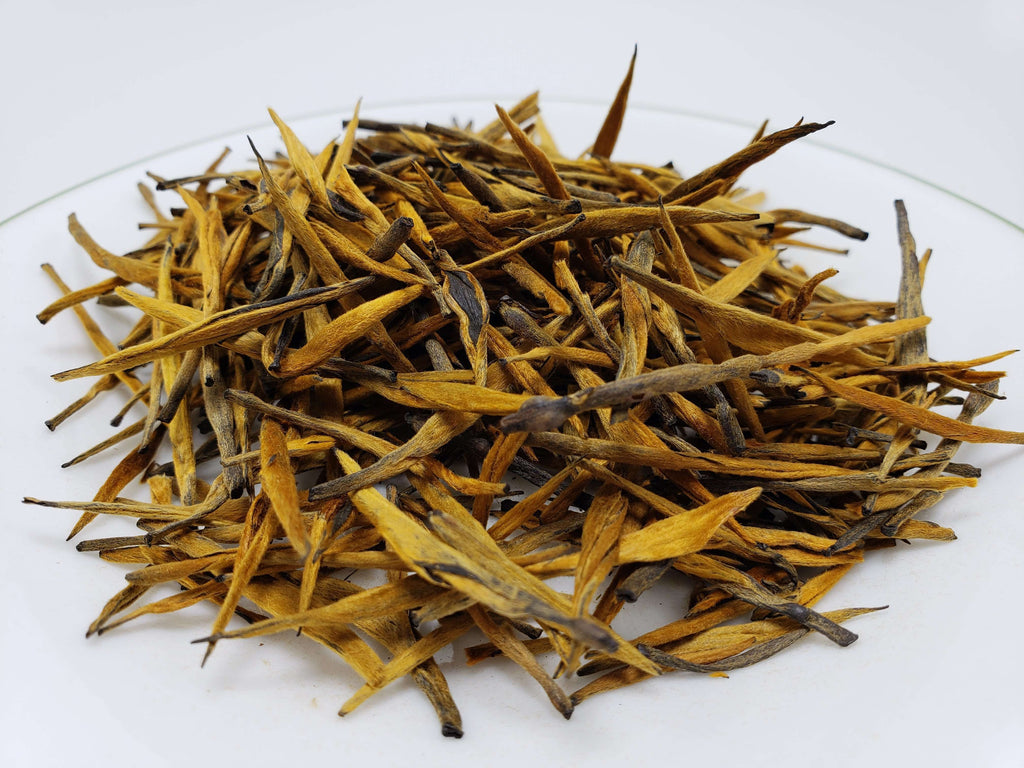 Pu'er Red Needle Loose Leaf Black Tea Loose Leaf Tea Teshuah Tea Company 50 grams