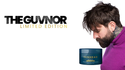 Sknhead London The Guvnor Styling Clay - Limited Edition. Ultimate styling clay for rocking hold and matte photo-finish