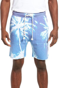 SOL ANGELES MEN'S AZURE SADDLE CUTOFF KNIT SHORTS - CIRCA75 MENSWEAR