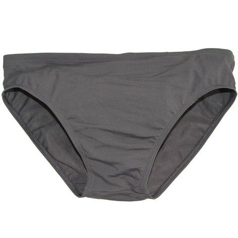 CIRCA75 Men's Chlorine Resistant Swimming Brief Dark Grey