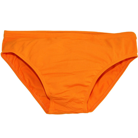 CIRCA75 Men's Chlorine Resistant Swimming Brief Orange