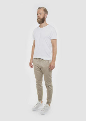 DR DENIM MEN'S DIGGLER SLIM TAPERED FIT CHINO - KHAKI - CIRCA75 MENSWEAR