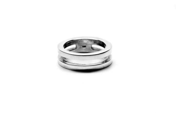 SILVER MEN'S RING - CIRCA75 MENSWEAR
