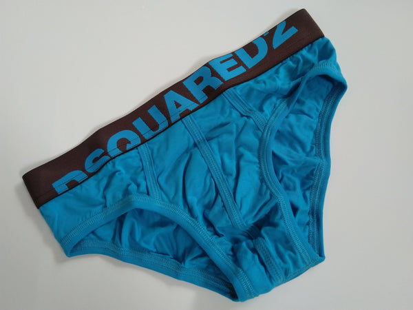 DSQUARED2 Logo Brief Men's Underwear - Light Blue