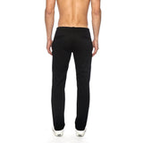 PARKE & RONEN MEN'S SOLID STRETCH LIDO TROUSER BLACK - CIRCA75 MENSWEAR