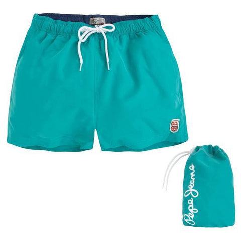 PEPE MEN'S SWIM SHORTS GREEN - CIRCA75 MENSWEAR