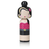 Lucie Kaas Sketch inc Kokeshi Doll - Amy Winehouse