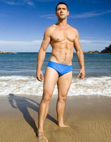 CIRCA75 Men's Swim Brief - Blue