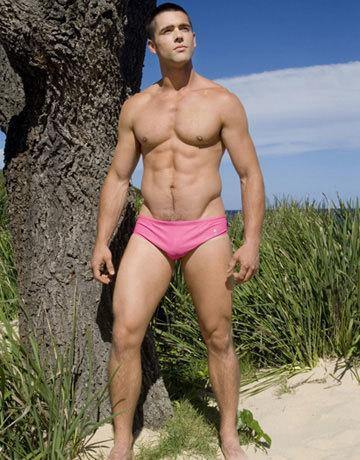 CIRCA75 Men's Swim Brief - Pink