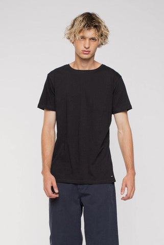 DR DENIM MEN'S PARICK T-SHIRT BLACK - CIRCA75 MENSWEAR