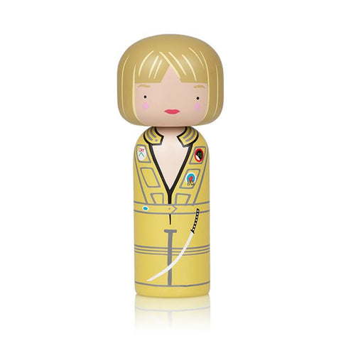 Lucie Kaas Sketch inc Kokeshi Doll - The Bride (Kill Bill Movie)
