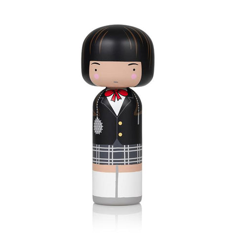 Lucie Kaas Sketch inc Kokeshi Doll - Gogo Yubari (Kill Bill Movie)