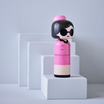 Sketch.inc for Lucie Kaas Jackie Kennedy Wooden Kokeshi Doll