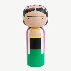 Sketch.inc for Lucie Kaas Frida Kahlo Kokeshi Doll