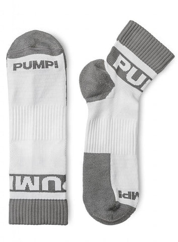 Pump! All-Sport Grey Socks 2-Pack