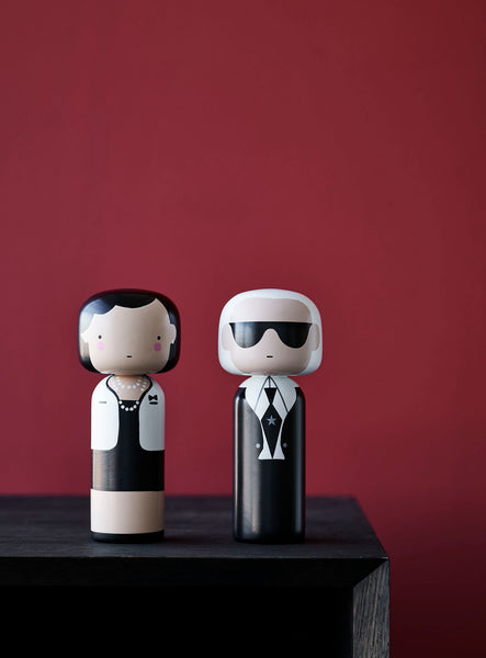 Sketch Inc Coco Chanel Wooden Kokeshi Doll