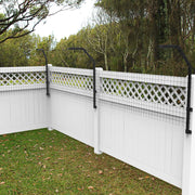 Houdini-Proof Dog Proofer Fence Extension System Kit